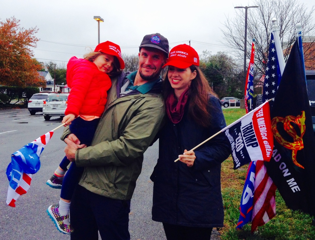 PHOTOS + VIDEO: Trump Freedom Patriot Rally (Poolesville, MD): November 1, 2020