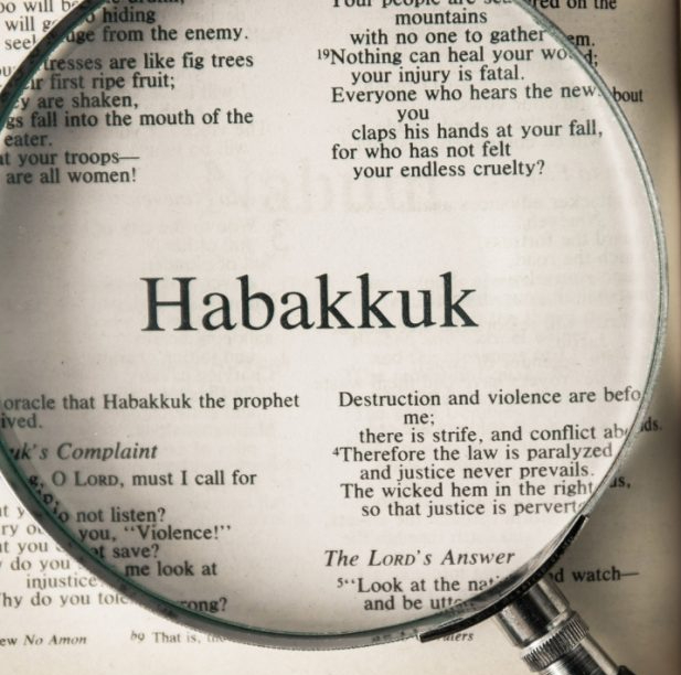 Anonymous: Who Was Habakkuk? And Why Should You Care?